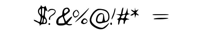 Alywriting Font OTHER CHARS