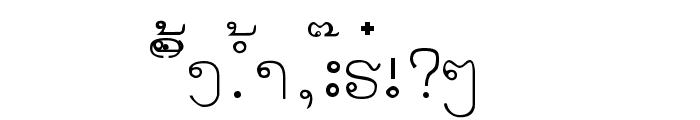 alice_0 Medium Font UPPERCASE