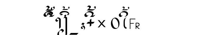 alice_3 Medium Font UPPERCASE