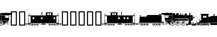 alphabettrain Font UPPERCASE