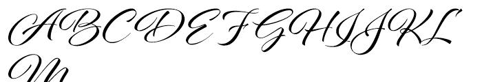 Al Fresco Regular Font UPPERCASE