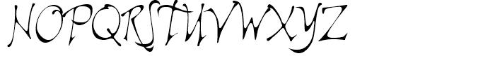 Ala Kazam Regular Font UPPERCASE