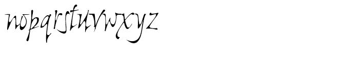 Ala Kazam Regular Font LOWERCASE