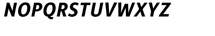 Alber New Bold Italic Font UPPERCASE