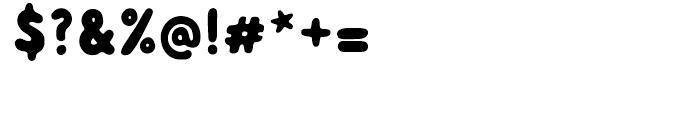 Albus Regular Font OTHER CHARS