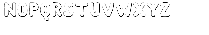 Albus Shadow Font UPPERCASE