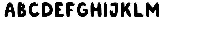 Albus Shine Font UPPERCASE