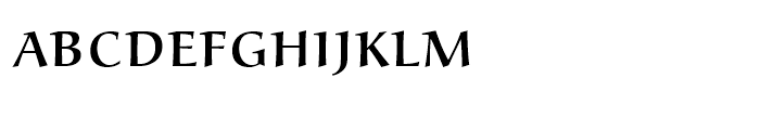 Alcuin Small Caps Light Font LOWERCASE