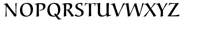 Alcuin Small Caps Regular Font UPPERCASE