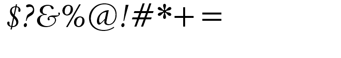 Aldine 401 BT Italic Font OTHER CHARS