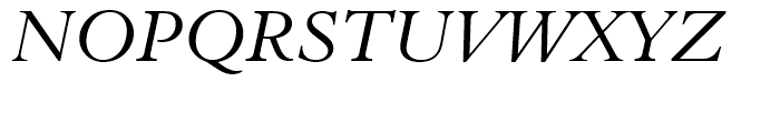 Aldine 401 BT Italic Font UPPERCASE