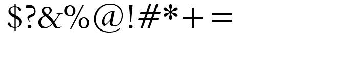 Aldine 401 BT Regular Font OTHER CHARS