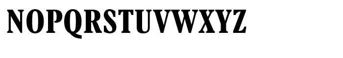 Aldine 721 Bold Condensed Font UPPERCASE