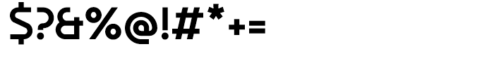 Aldrans Medium Font OTHER CHARS