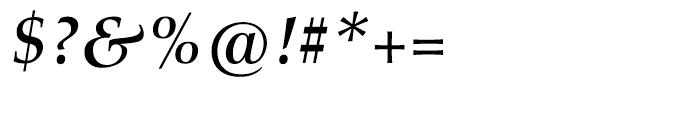 Aldus nova Book Bold Italic Font OTHER CHARS