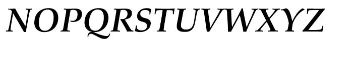 Aldus nova Book Bold Italic Font UPPERCASE