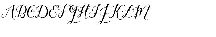 Aleka Regular Font UPPERCASE