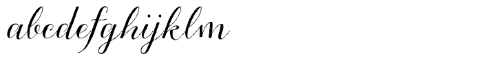 Aleka Regular Font LOWERCASE