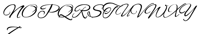 Alex ROB Brush Font UPPERCASE