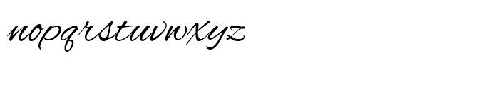 Alex ROB Brush Font LOWERCASE