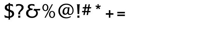 Alexon Medium Font OTHER CHARS