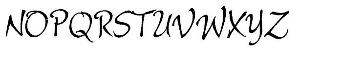 Alie Regular Font UPPERCASE