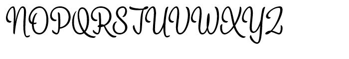Alina Light Font UPPERCASE