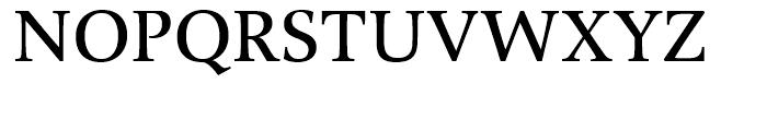 Alinea Serif Regular Font UPPERCASE