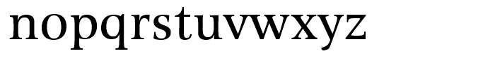 Alinea Serif Regular Font LOWERCASE