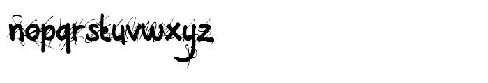 All Over Again Regular Font LOWERCASE