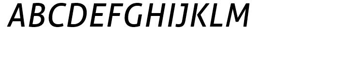 Aller Italic Font UPPERCASE