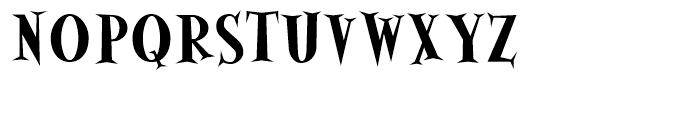 Alleycat Bold Font UPPERCASE