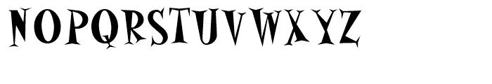 Alleycat Bop Bold Font UPPERCASE