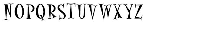 Alleycat Bop Font UPPERCASE