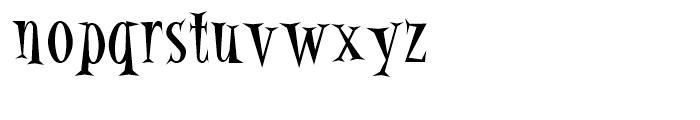 Alleycat Bop Font LOWERCASE