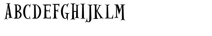 Alleycat Regular Font UPPERCASE