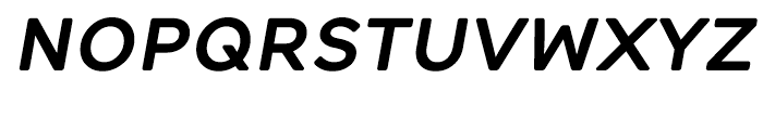 Alleyn Semibold Italic Font UPPERCASE