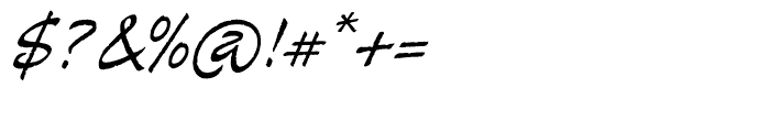 Alma Regular Font OTHER CHARS