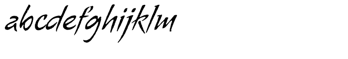 Alma Regular Font LOWERCASE