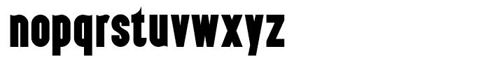 Almonte Regular Font LOWERCASE
