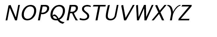 Alphabet OSF Font UPPERCASE
