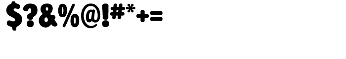 Alphabet Soup Regular Font OTHER CHARS
