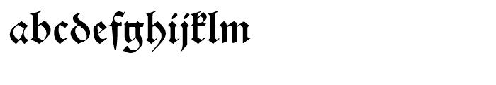 Alte Schwabacher Round Standard Font LOWERCASE