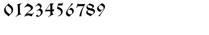 Alte Schwabacher Standard D Font OTHER CHARS