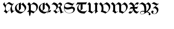 Alte Schwabacher Standard D Font UPPERCASE