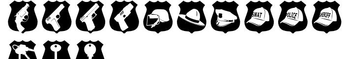 Altemus Security Regular Font UPPERCASE