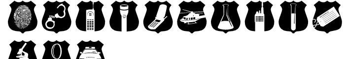 Altemus Security Regular Font LOWERCASE