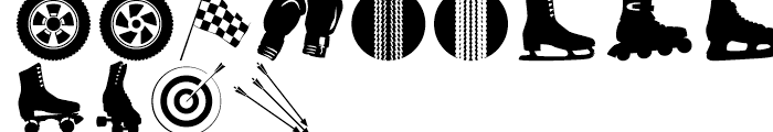 Altemus Sports Two Font LOWERCASE