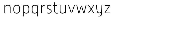 Alwyn New Rounded Thin Font LOWERCASE