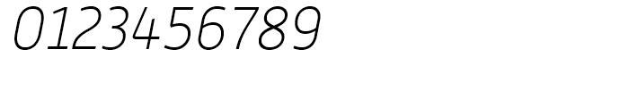 Alwyn New Thin Italic Font OTHER CHARS